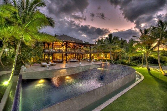 Luxus Pool Schoner Garten Mit Pool House Styles Mansions Pool