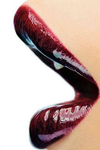 Lippen Lippenstiftlippenlips Lippen Schöne Lippen Und