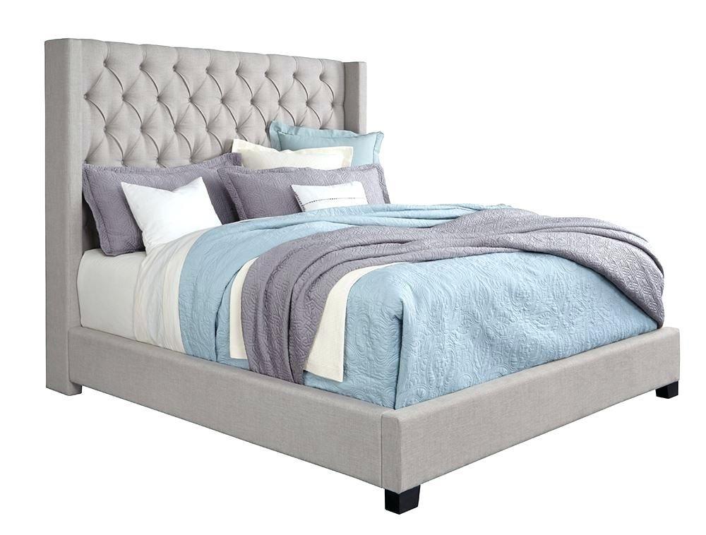 Fancy Grey Upholstered Bed Set Photographs Best Of Grey