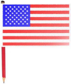 Make Your Own American Flag American Flag Crafts Flag Crafts Flag Printable