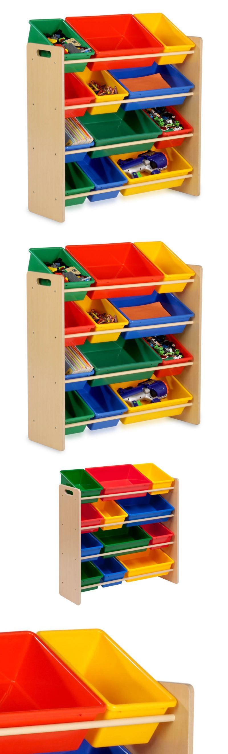 Storage Units 134651 Honey Can Do Srt 01602 Kids Toy Organizer And