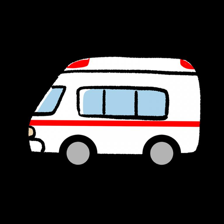 救急車のイラスト 救急車 イラスト 救急車 イラスト