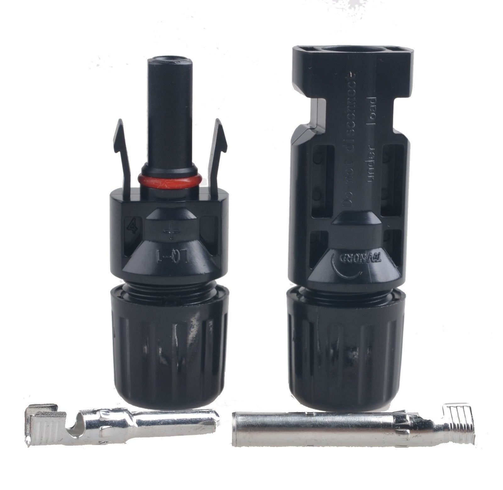 399 Waterproof Mc4 Connector Male Female Wire Solar Panel House Wiring For Panels Cable Ip67 Ebay Home Garden