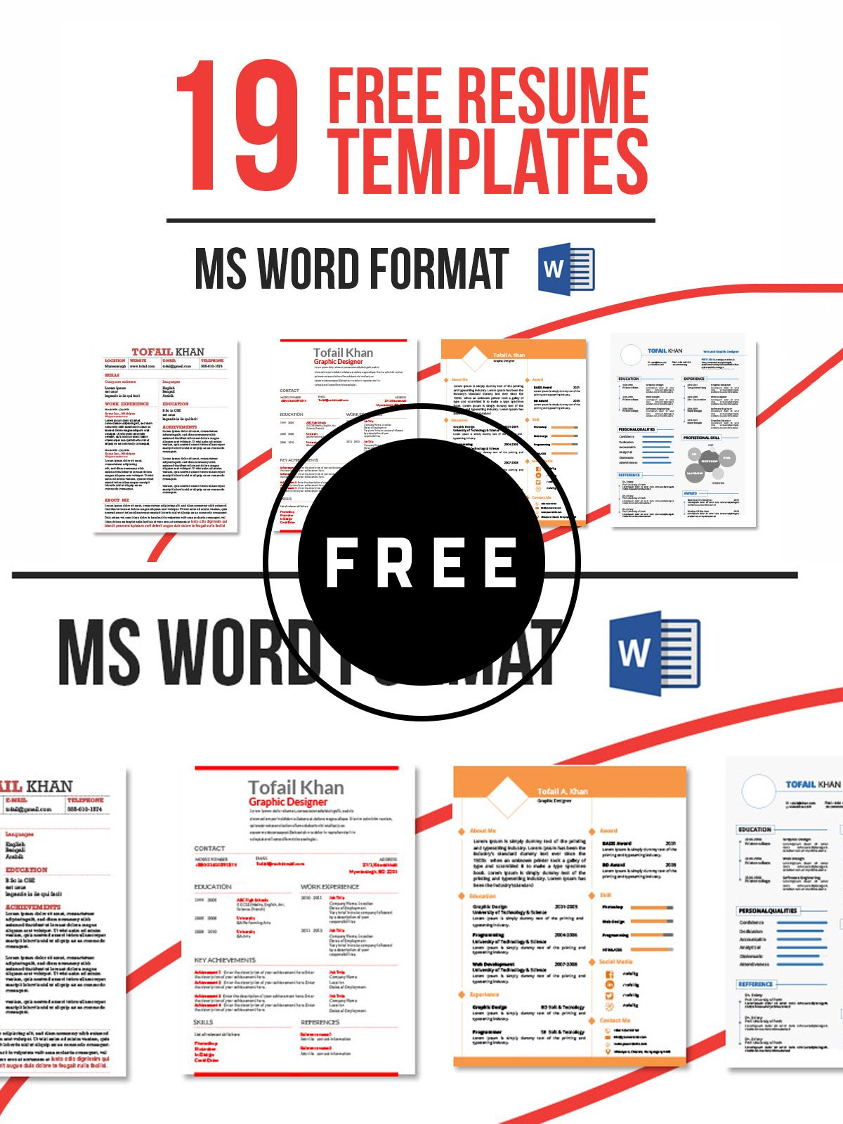 98 awesome free resume templates resume template free