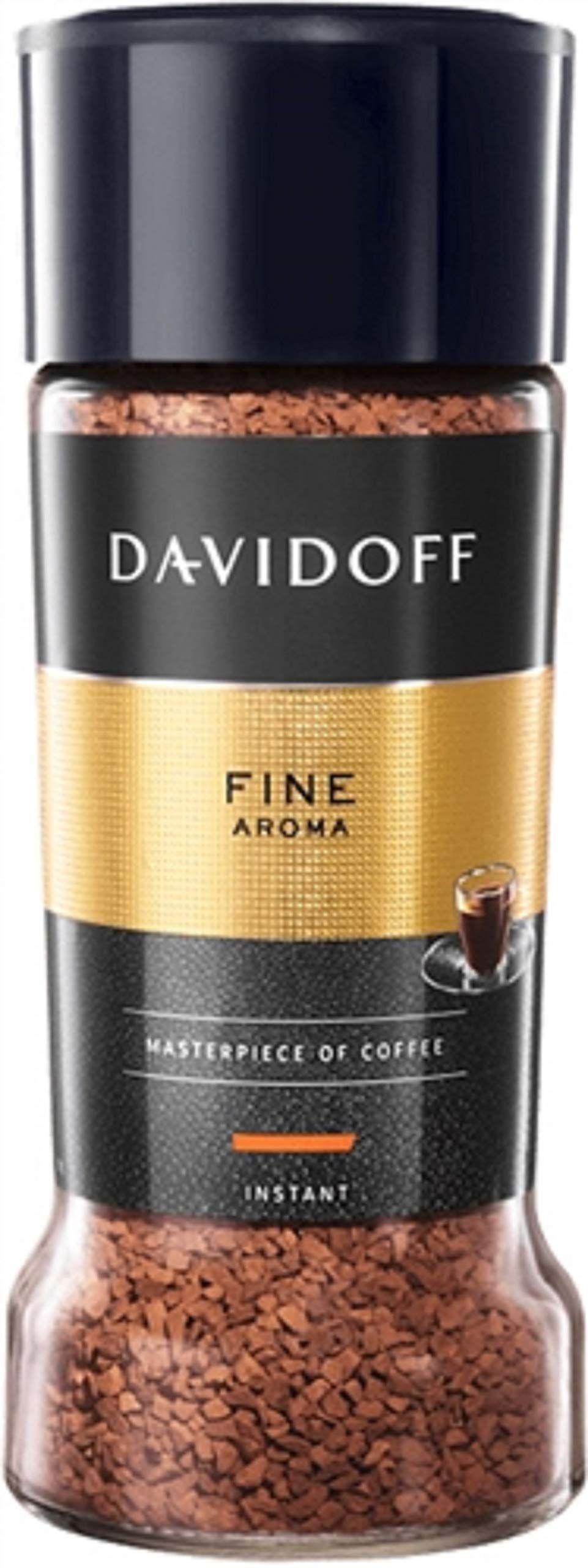 دافيدوف مقهى الجميلة رائحة البن القابل للذوبان و 100 جم Davidoff Cafe Fine Aroma Instant Coffee 100 Gm تشحن بواسطة امازون In 2020 Instant Coffee Aroma Premium Coffee