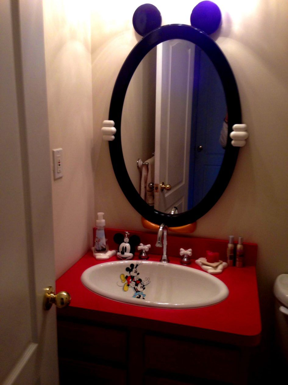 Remarkable Mickey Mouse Bathroom Accessories Part 10 High Definition