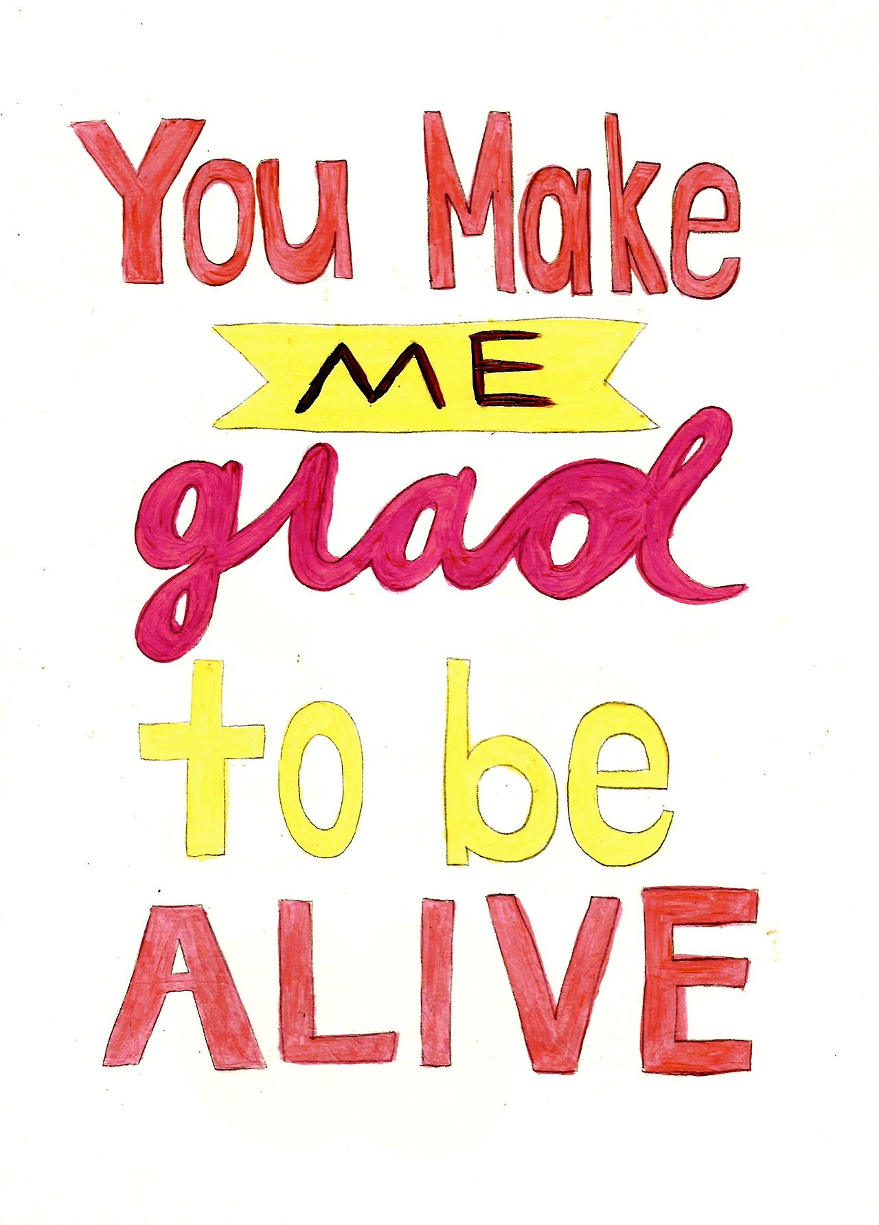 You Make Me Glad To Be Alive Song Your Heart Is A Muscle The