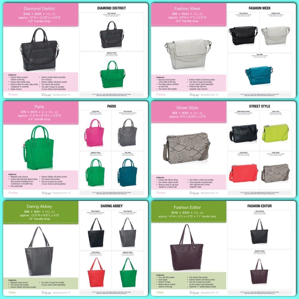 Love The New Jewell By Thirty One Line For Spring