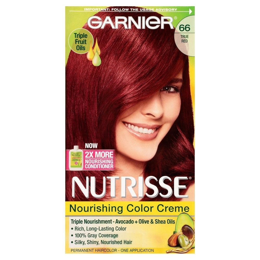 Garnier Nutrisse Nourishing Color Creme 66 True Red Products
