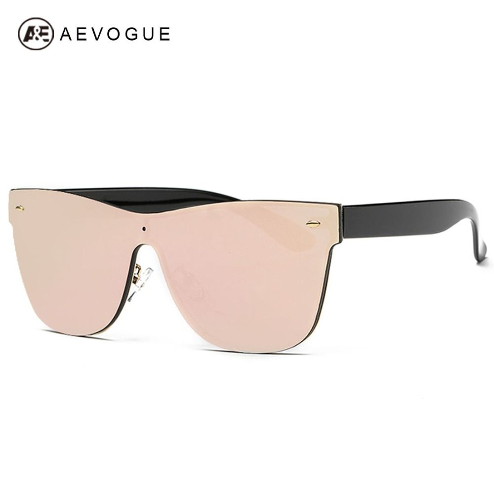 2da00e35e Barato Aevogue óculos De Sol das mulheres siameses óculos sem aro De lente  verão óculos De Sol óculos De Sol UV400 AE0323, Compro Qualidade Óculos  Escuros ...