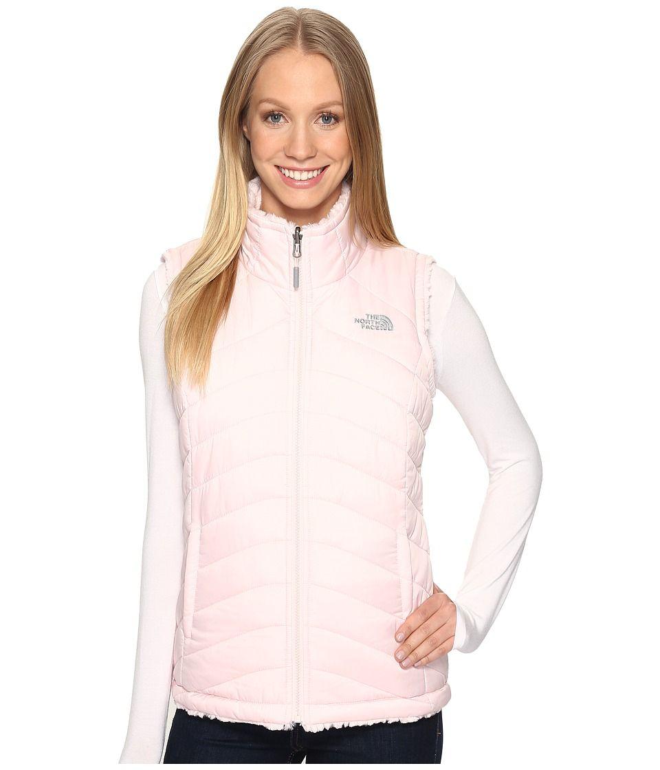 The North Face Mossbud Swirl Reversible Vest Purdy Pink Prior Season Women S Vest Modesens Coats For Women Black North Face Vest North Face Long Coat [ 1120 x 960 Pixel ]