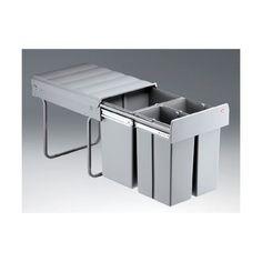 Details Zu Einbau Mulleimer Abfallsammler 40 Liter 3 Fach Versch Ausfuhrungen Zubehor Abfallsammler Mulleimer Kuche Einbau Abfallsammler