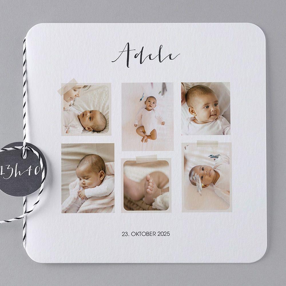 Geburtskarten b27 016 maracla geburt danksagungskarten geburt und dankeskarte geburt - Vintage geburtskarten ...