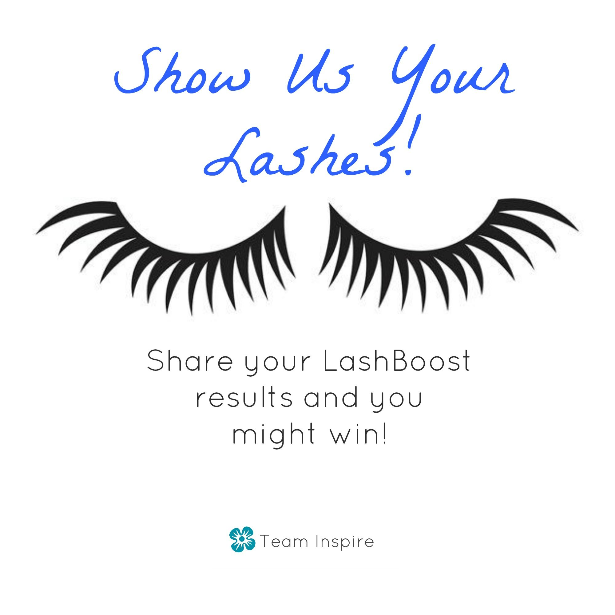 Competition Time! Show me your lashes on Twitter @JuliePhelps12 and be entered to win!