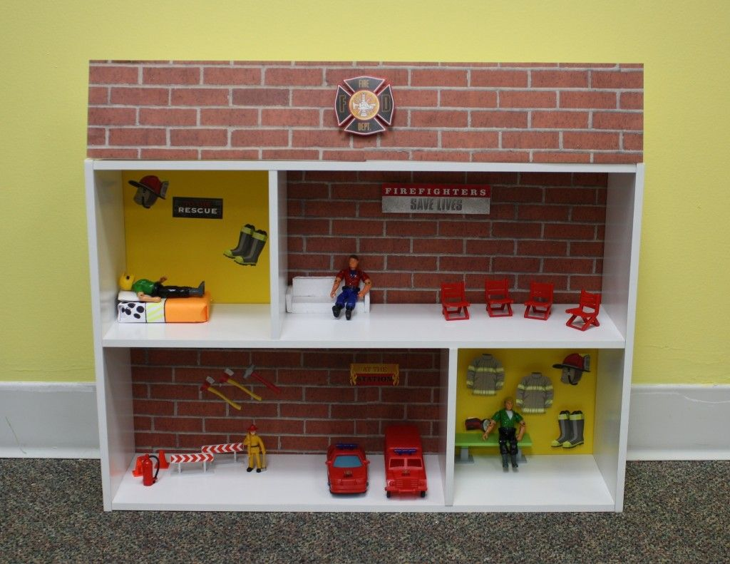 closetmaid blog closetmaid crafts diy fire station for the little