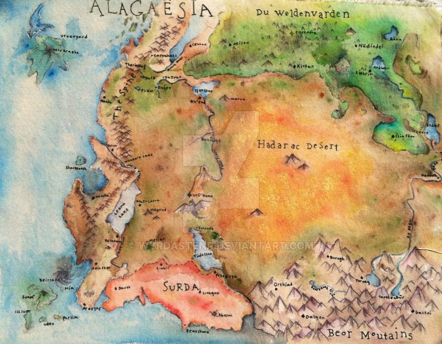 Eragon Karte.Alagaesia By Wyrdastenr Eragon In 2019 Inheritance Cycle Map