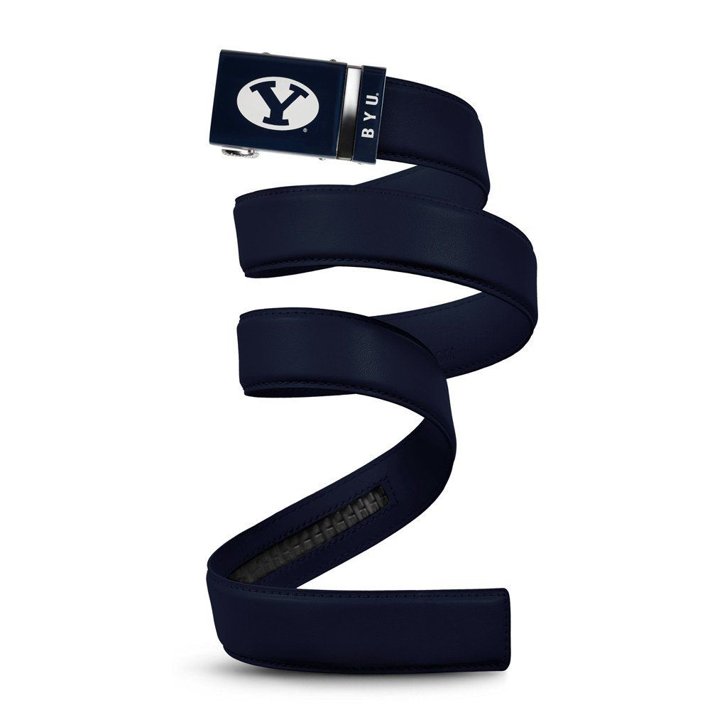 Image result for byu clothing blue y leather belts men