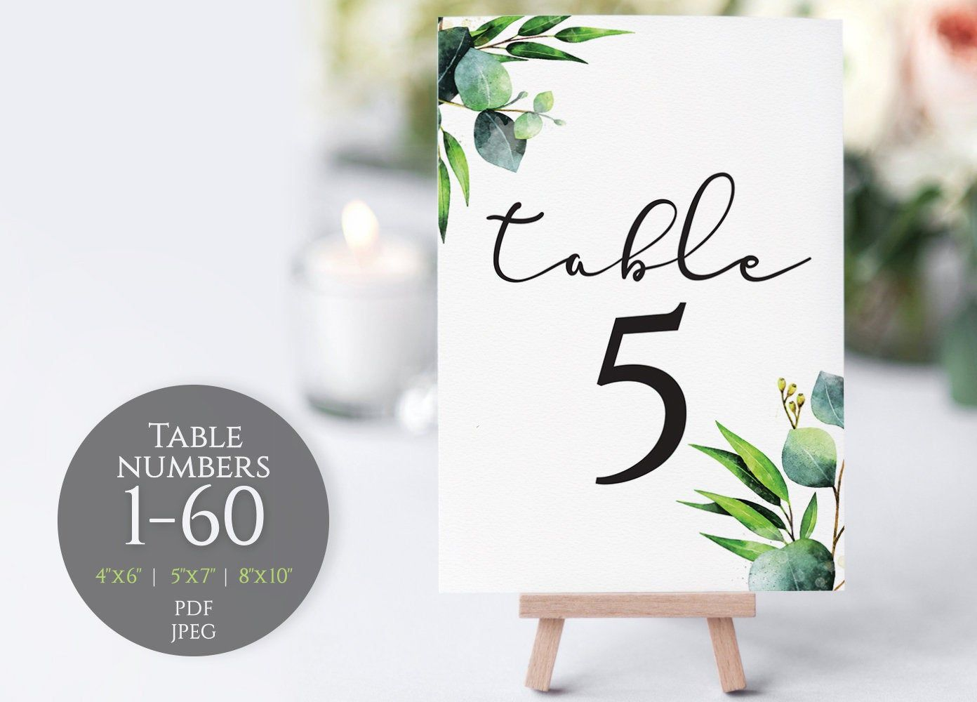Rustic Wooden Easels Card Holder Wedding Table Decor Birthdays Party Supplies