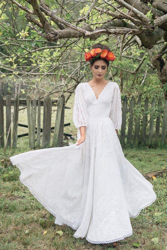 Cotton Lace Wedding Dresses 70