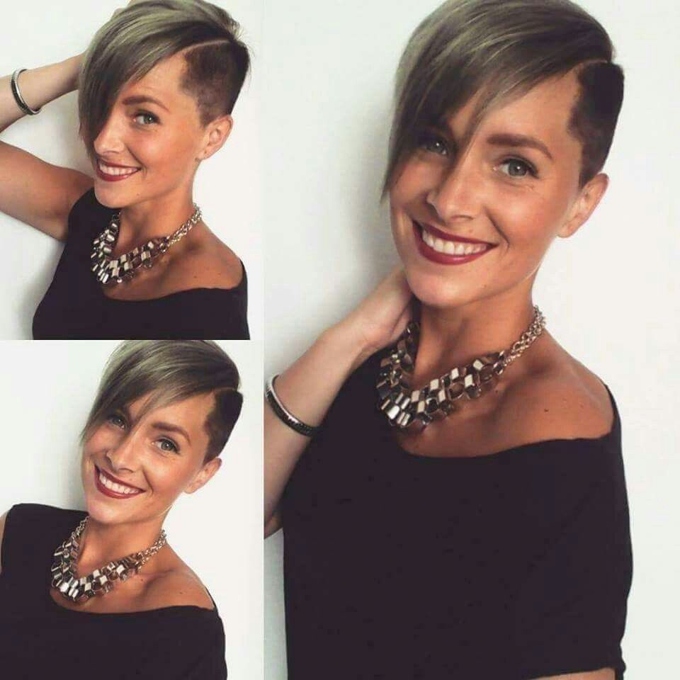 Love this cut hairstyles pinterest short hair pixies and
