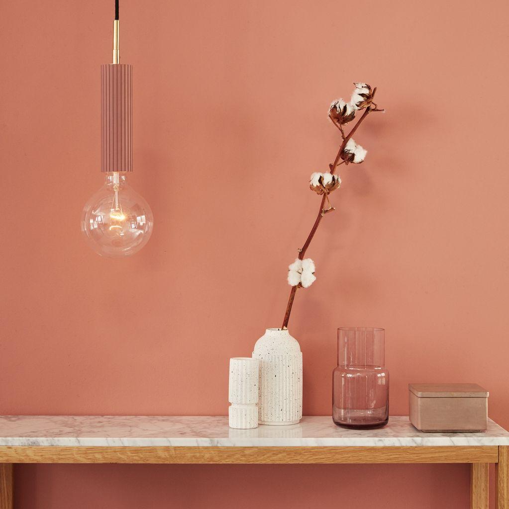 Quelle Couleur Se Marie Bien Avec Le Beige ces intérieurs qui osent la déco rose blush | couleur mur
