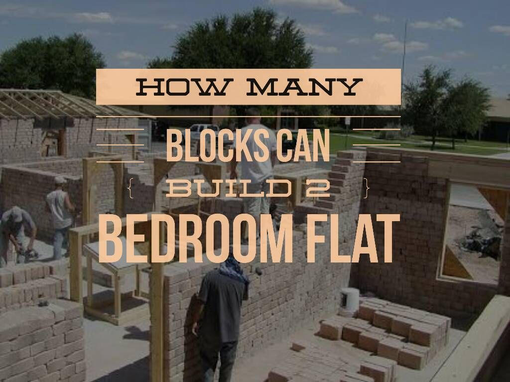 How Many Blocks Can Build 2/3/4 Bedroom Flat in Nigeria ...