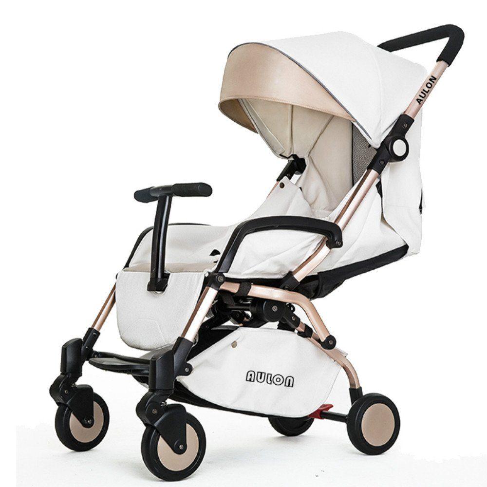 AULON Luxury Newborn Baby Foldable Anti-shock High View