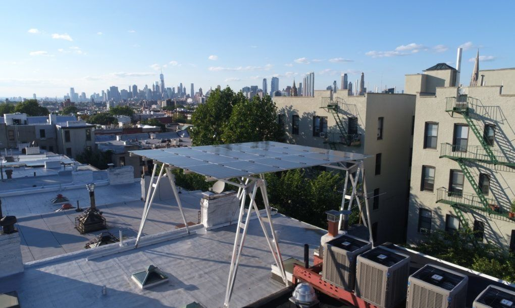 Brooklyn Solarworks Can Turn Almost Any Rooftop Into A Sun Powered Oasis Green Roof Solar Companies Solar