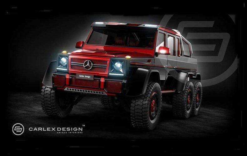 Mercedes Benz G63 Amg 6x6 By Carlex Design Mbhess Mbcars