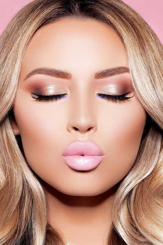 35 Stunning Night Wedding Make Up Ideas | Maquillaje, Belleza y ...