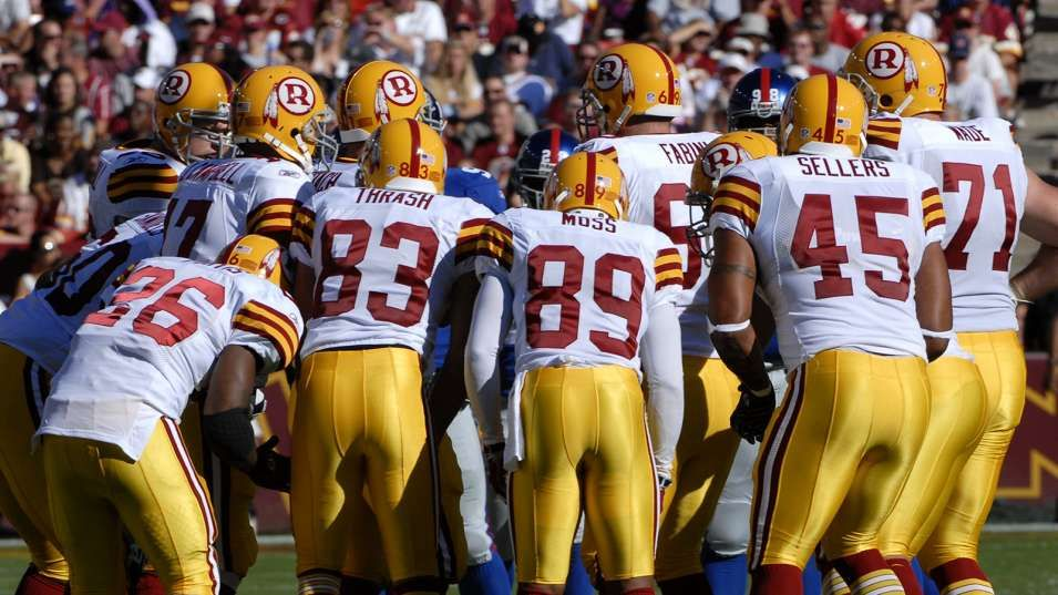 b0a3a3b0f 2007 Washington Redskins Throwback uniforms!