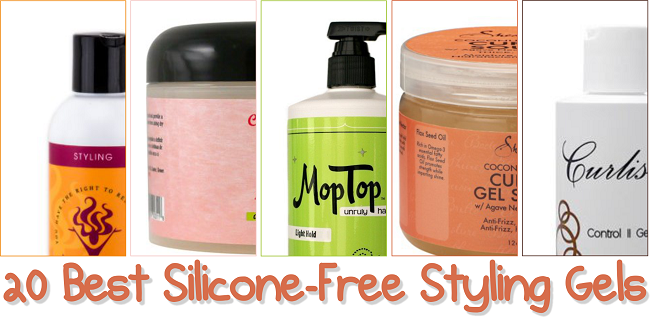 20 Best Silicone Free Styling Gels For Natural Hair Natural Hair Gel Natural Hair Styles Styling Gel