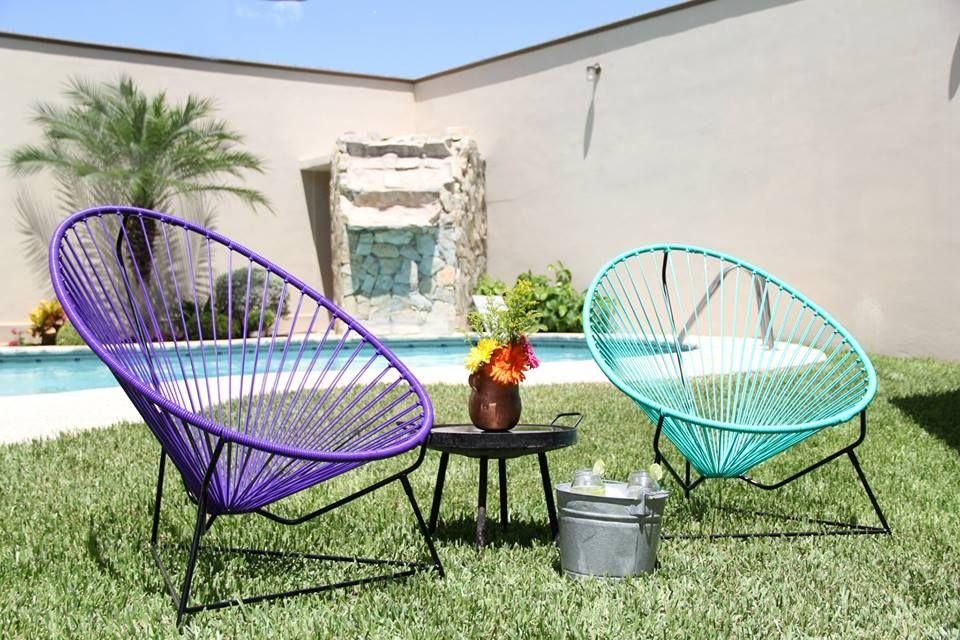 Silla acapulco para eventos chairs pinterest for Sillas para piscina