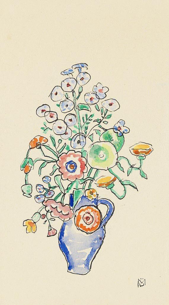 Gabriele Munter - Flower Still Life