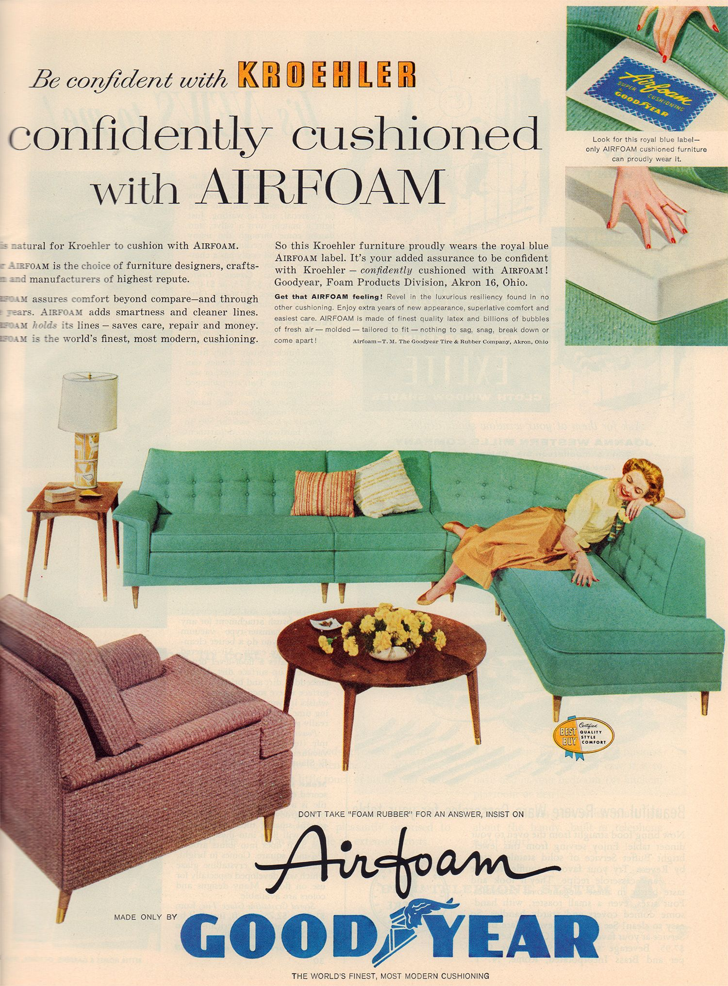 Pleasant Valley Living: A Look Inside A Mid Century Home Magazine   Flashbak