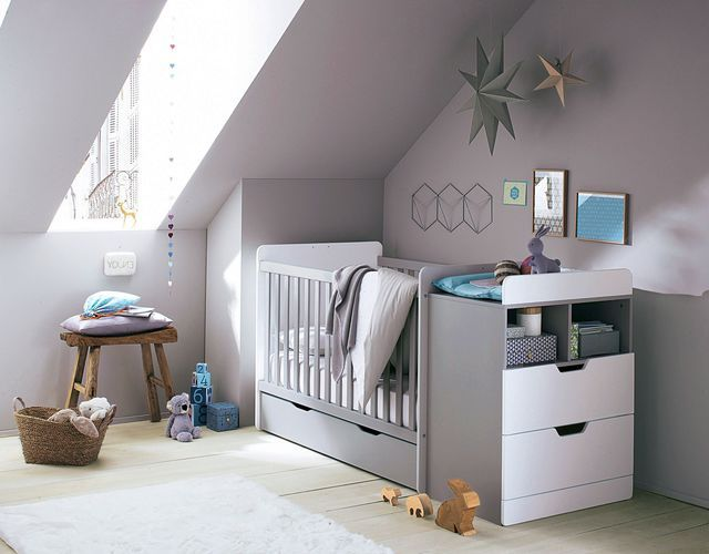 Lit de b b 15 mod les tendance chambre b b pinterest lit junior commode tiroir et - Lit de bebe avec table a langer integree ...