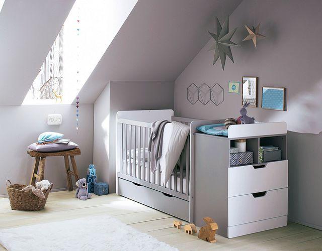 Lit de b b 15 mod les tendance chambre b b pinterest lit junior commode tiroir et - Berceau avec table a langer 2 ...