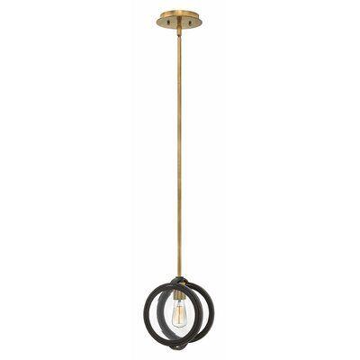 Hinkley Lighting Fulham 1 - Light Single Globe Pendant | Perigold