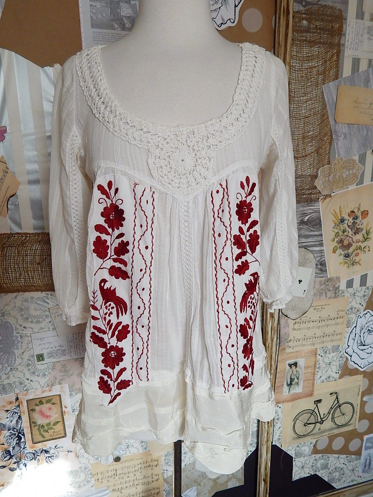 d3b52539f24 Lavender vintage crochet Mexican blouse gauze by AidaCoronado, $98.00    ETSY Shoppe   Mexican blouse, Vintage crochet, Blouse
