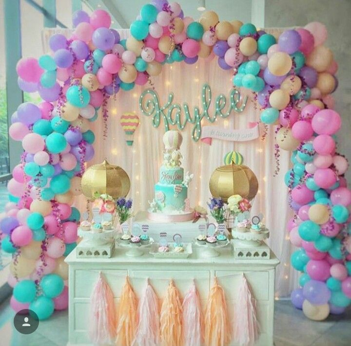 Unicorn party ideas for birthday th girls themes also best images aniversario balloons arches rh pinterest