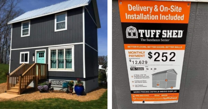 Home Depot Has Kits That Let You Build Your Own Tiny House And They Are Incredible In 2020 Shed To Tiny House Home Depot Tiny House Build My Own House