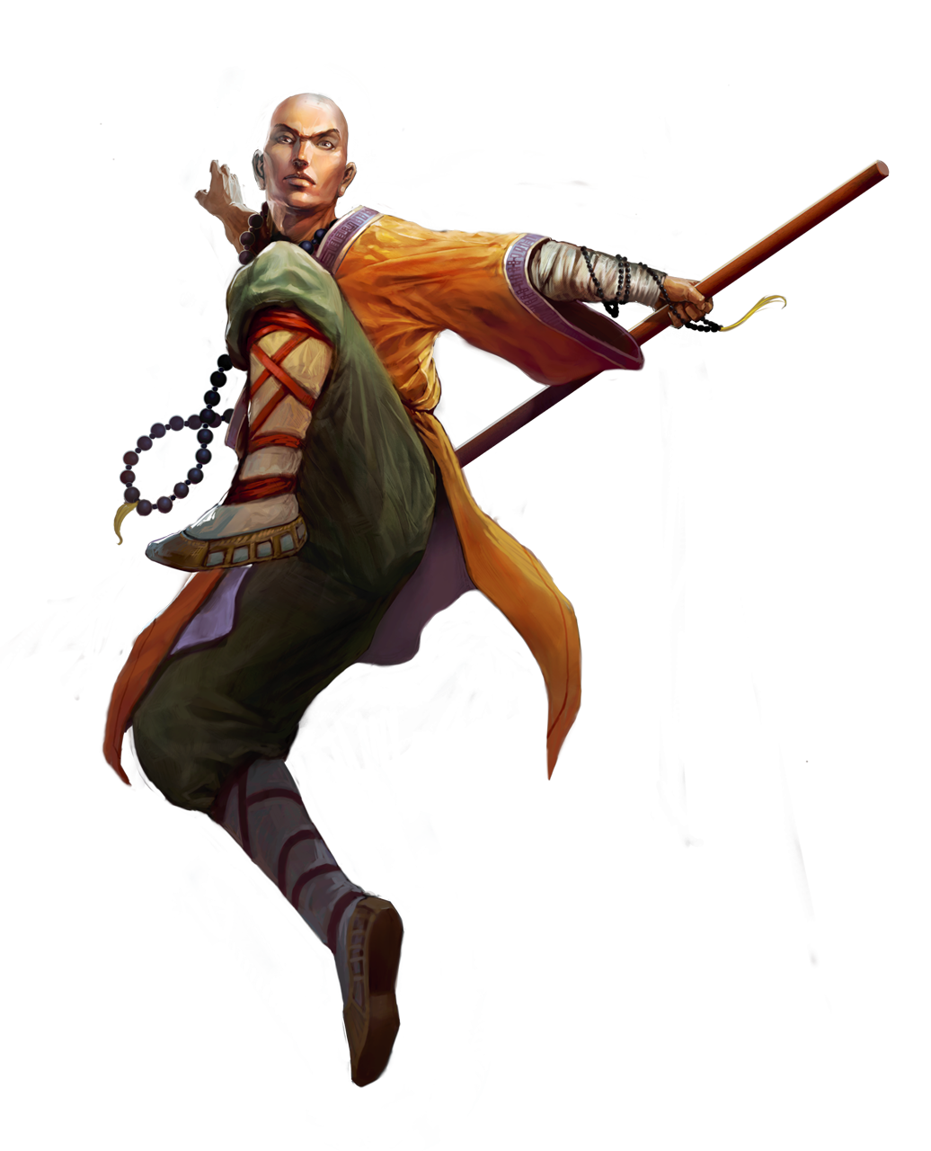 dungeons and dragons monk Google Search Personagens