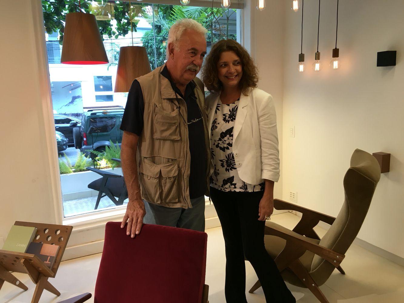 Carlos Vergara e Cristina Alho
