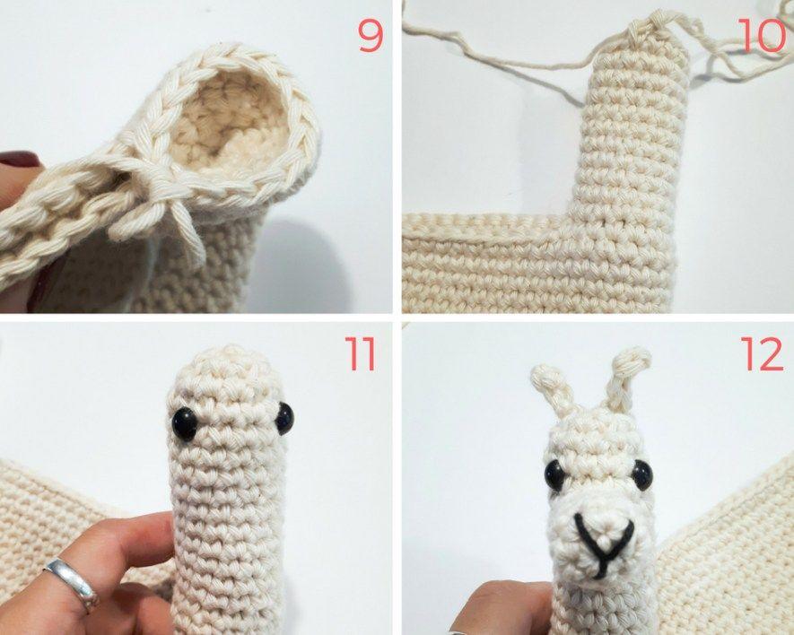 Llama purse crochet pattern | crochet | Croché, Tejidos, Manualidades