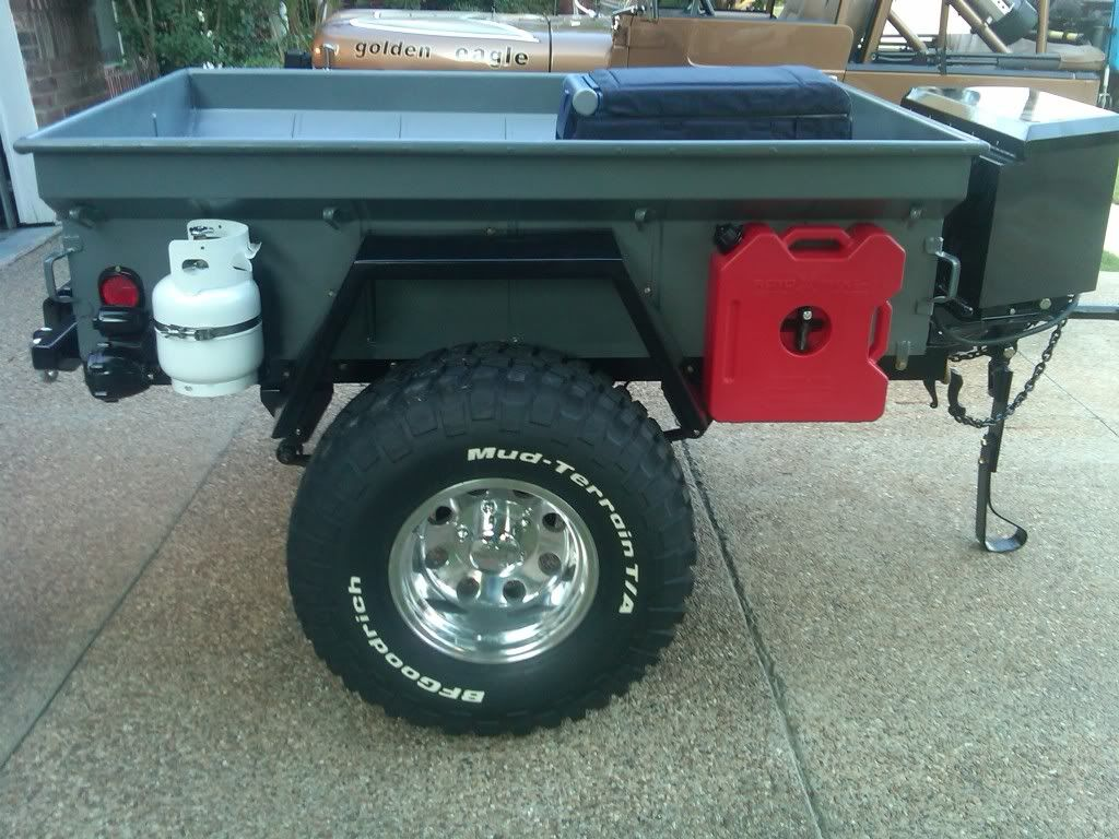 Securing A Propane Tank To The Outside Of Trailer Expedition Lengthening Car Page 2 Pirate4x4com 4x4 And Offroad Portal