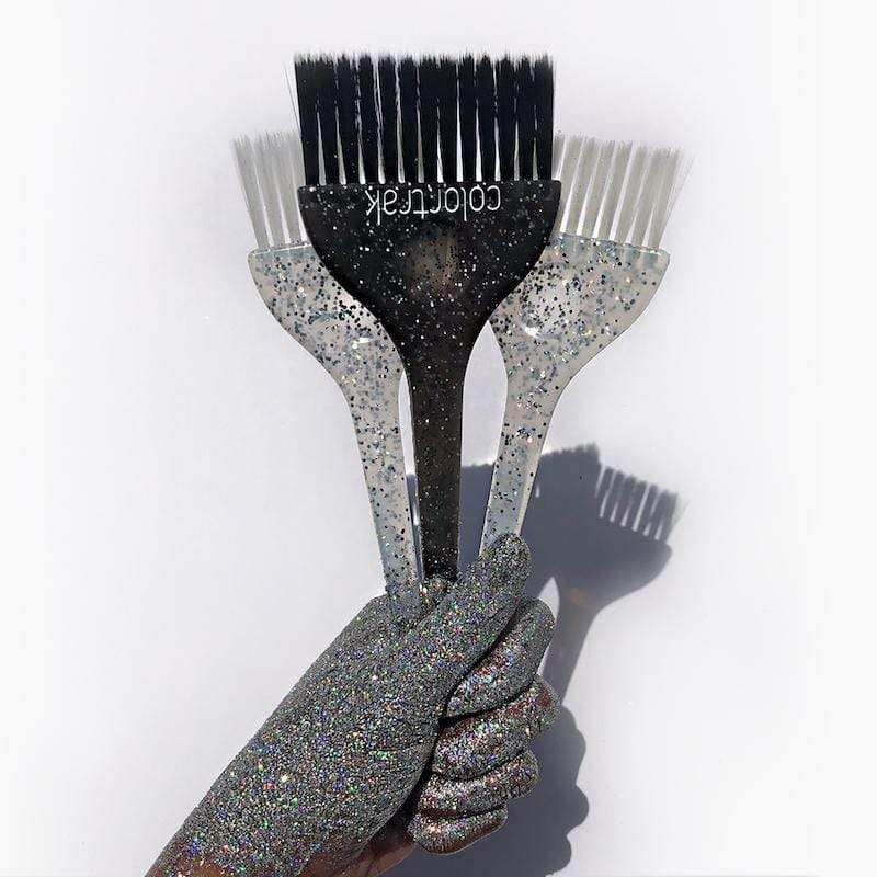 Galaxy Glitter Brushes 2 Pack Professional Color Brushes In 2020 Hair Color Brush Hair Brush Hair Color Techniques