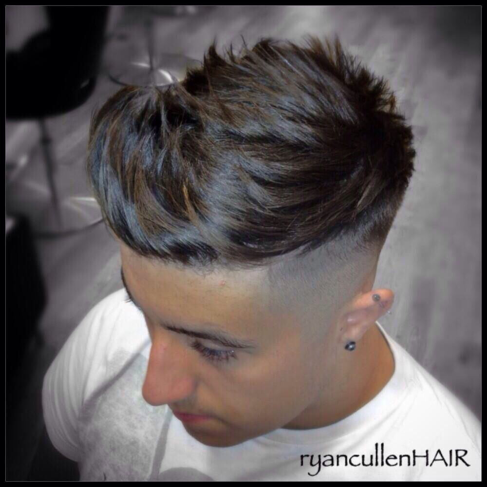Hairstyles with quiff - Huge Quiff Skin Fade And Heavy Disconnection