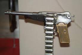 Risultati immagini per treeby chain gun