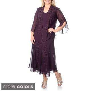 R m richards plus dresses retro
