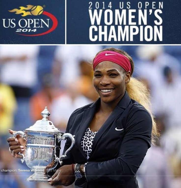 Pin by Julia Simmons on US Open (With images) Champion